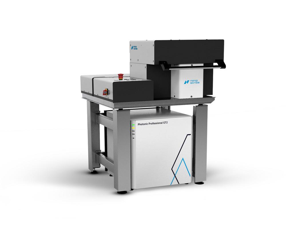 Nanoscribe's Photonic Professional GT2 3D printer
